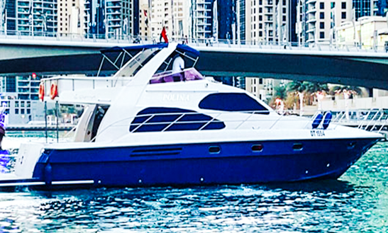 Mnh 64' Power Mega Yacht Charter In Dubai, United Arab Emirates For 25 People