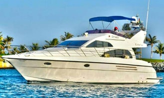 45' MNH Motor Yacht Charter in Dubai, United Arab Emirates For 15 Persons