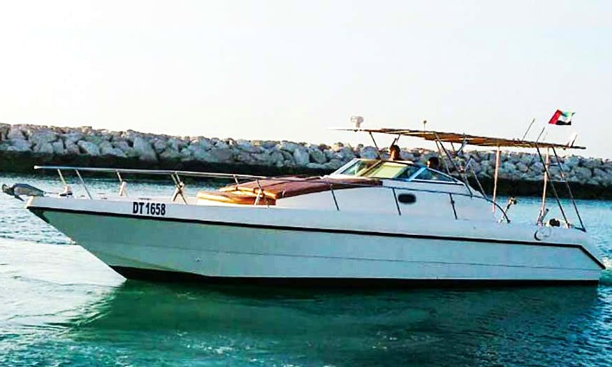 Enjoy The Thrill Of Cruising And Fishing Adventure On Cuddy Cabin Fishing Charter in Dubai, United Arab Emirates