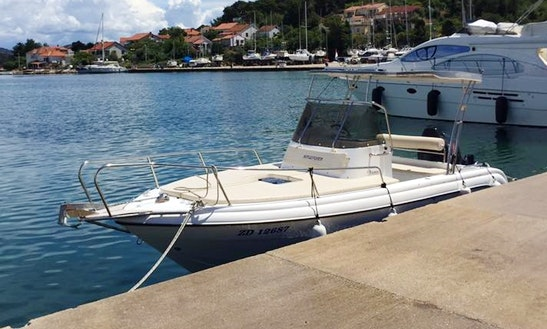 Experience The Beautiful Coasts Of Zadar, Croatia On 6 Persons Center Console