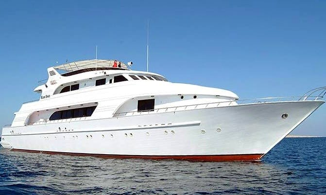 Charter This 10 Persons Power Mega Yacht Diving Charter in Red Sea Governorate, Egypt