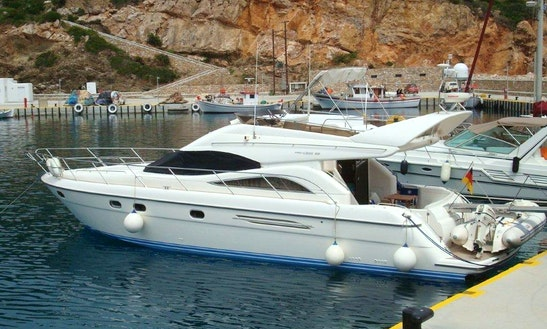 Charter This 52' Princess Fly Power Mega Yacht Charter In Agios Ioannis Diakoftis, Greece For 8 People