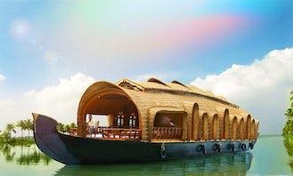 Houseboat rental in Kollam, India