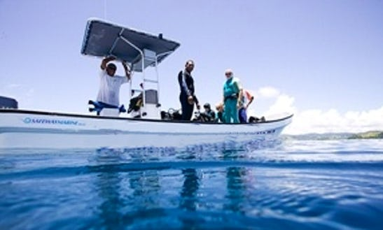 Boat Diving Trips In Matei