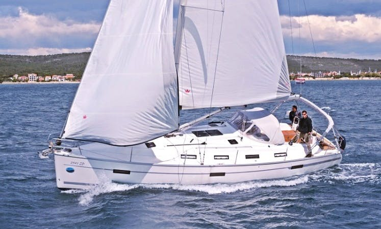 Cruise along the Sukošan, Dalmatia with this Bavaria Cruiser 40 'Marisa' Cruising Monohull