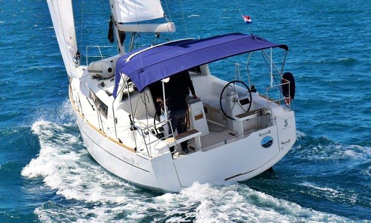 "Have an amazing time in Sukošan, Dalmatia on Beneteau's Oceanis 38.1 ""Elsa"" Cruising Monohull"