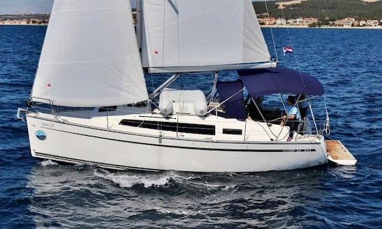 Cruise Along The Coast Of Sukošan, Dalmatia With This Bavaria Cruiser 34
