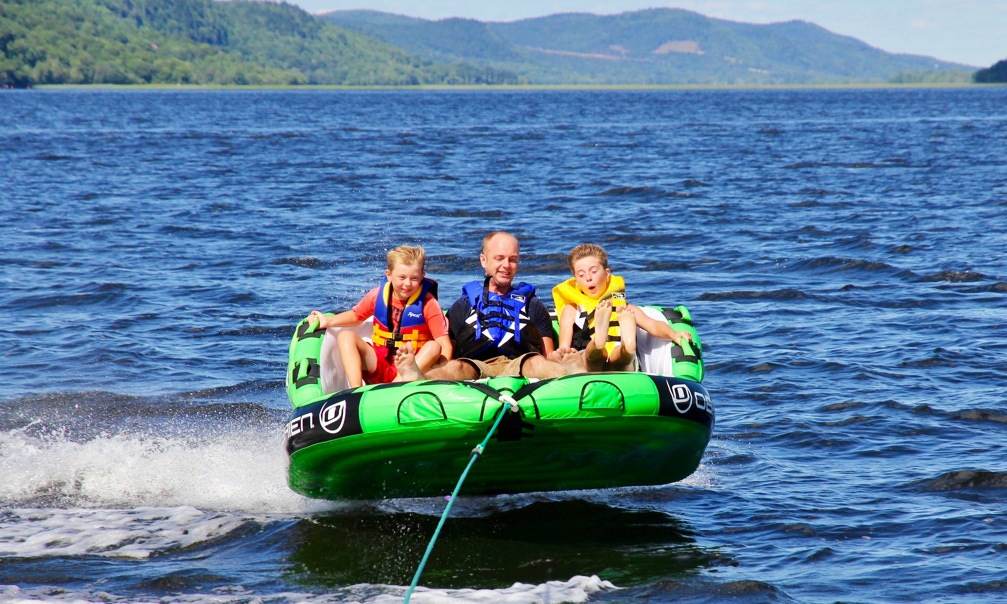 Water Tubing at Kennebecasis River