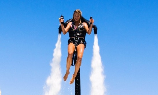 Experience The Fun Of The Water Jetpack Flight In Rosarito, Baja California