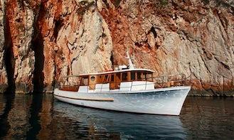 "Discover the scenery of Hvar Island and Adriatic Sea on 56' ""Delfina"" Trawler"