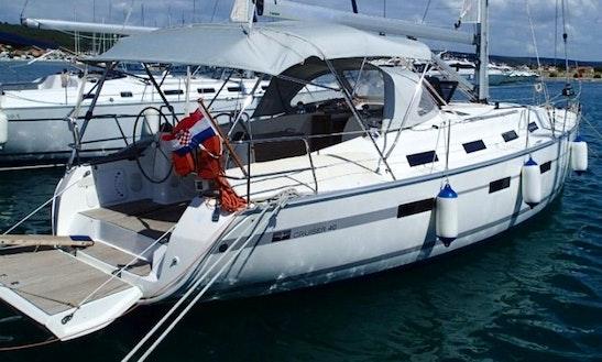 40' Bavaria Cruiser Cruising Monohull Charter In Sukošan, Croatia
