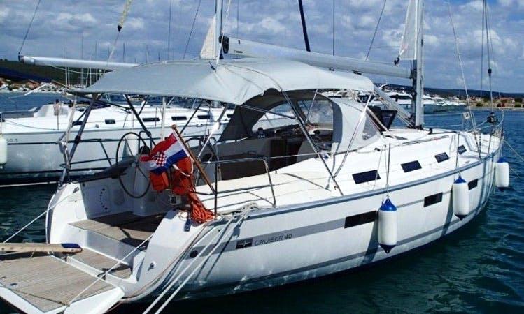41' Bavaria Cruiser - Mojito Sailboat Charter in Sukošan, Croatia