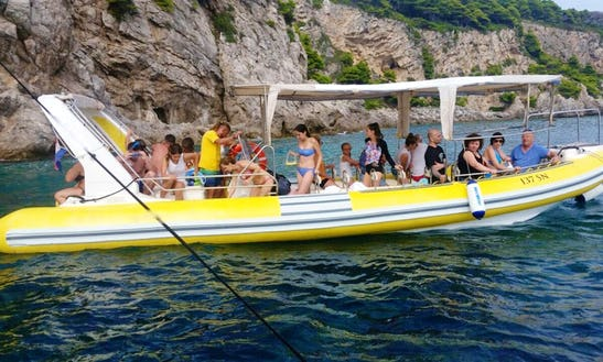 Charter 31' Rigid Inflatable Boat In Dubrovnik, Croatia