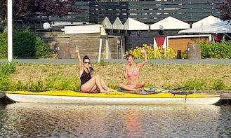 Kayak in Zevenhoven, de Hoek, Nieuwkoop, Netherlands