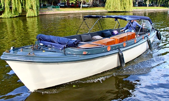 Hire Hugo Electric Boat In Amsterdam, Netherlands