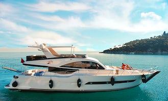 2015 Custom 74' Private Yacht rental in İstanbul