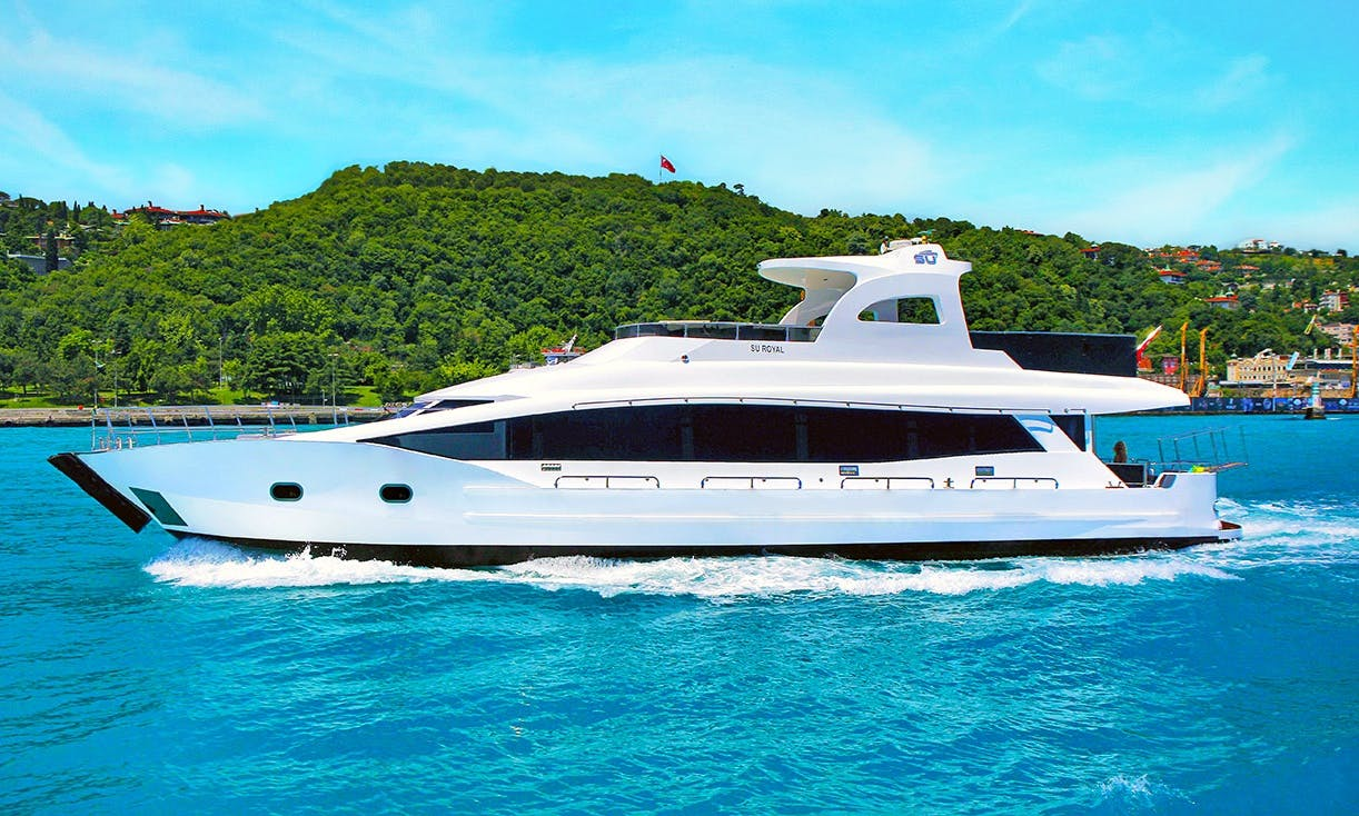 Luxury Motor Yacht for up to 45 Guests