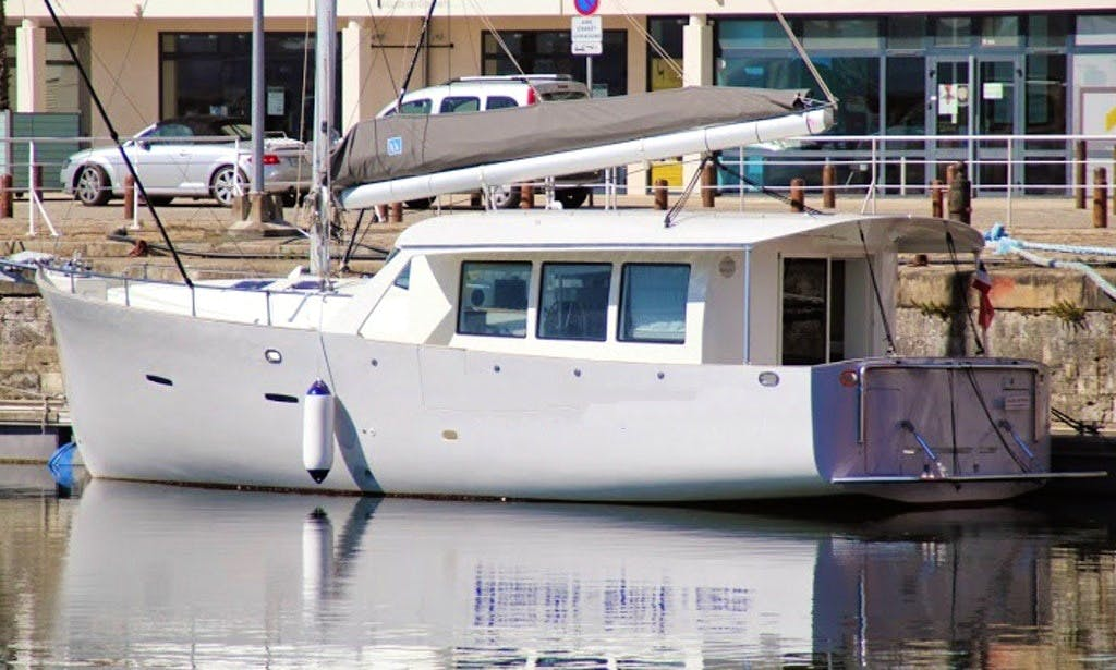 "44' Sailing ""Nomadis-Spirit"" Yacht In La Rochelle"