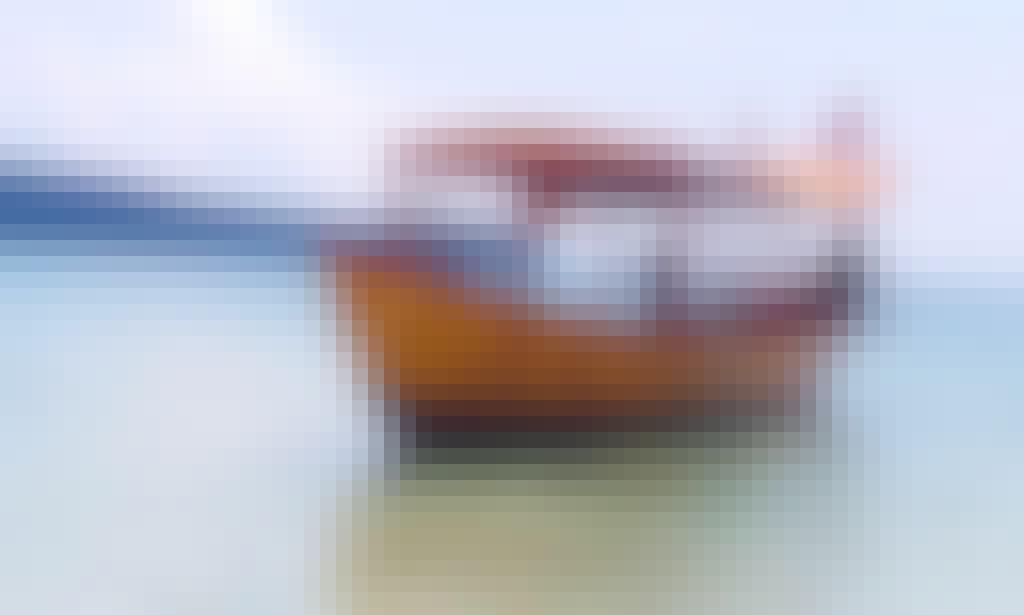 Traditional Boat Charter, Has Captain & Bimini To Provide Shade!