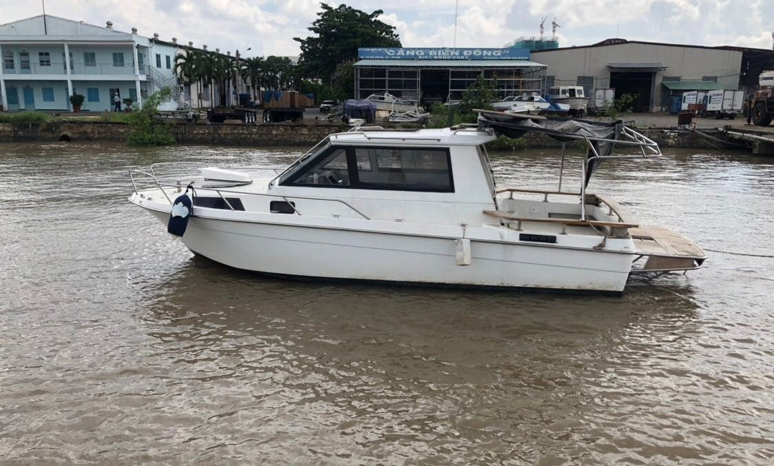 Great Fishing Boat for Rent in Saigon