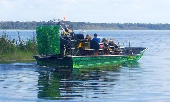 Airboat Tours In Lake Panasoffkee, Florida
