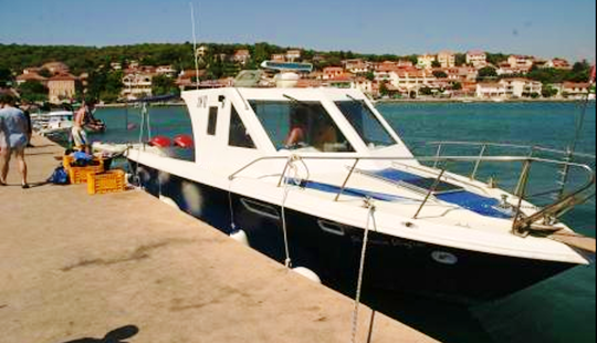 Diving Boat Charter In Jezera