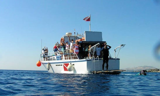 Boat Daily Diving Trips In Rodos