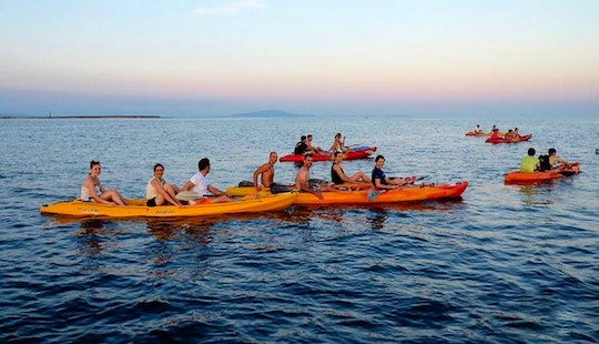 Take Your Vacation On A Next Level In Premantura, Croatia - Book A 3 Seater Kayak!