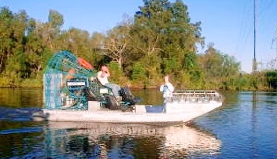 20' Airboat In Belle Chasse, Louisiana United States
