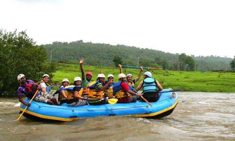 Enjoy Rafting In New Delhi, India