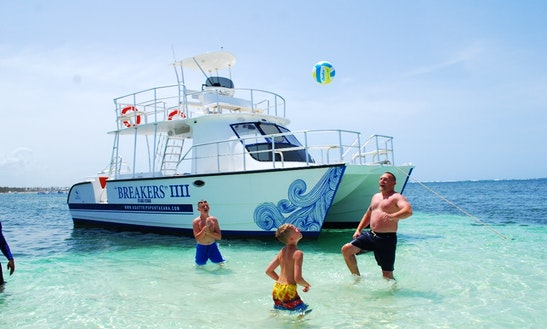 Shared Catamaran Rental In Punta Cana Vip
