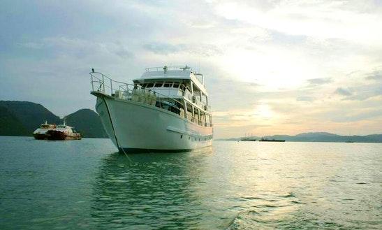 Princess Amalin Power Mega Yacht In Port Klang