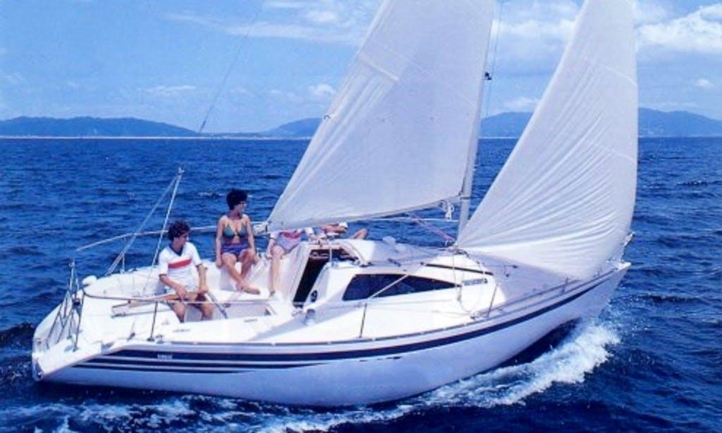 Charter 24' Eygthene Cruising Monohull in Macao, China
