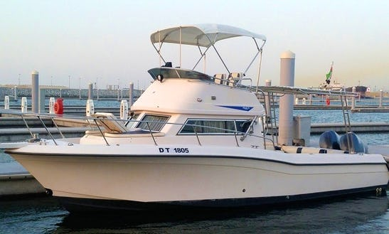 Charter A 28' Grady White Atlantic Motor Yacht In Dubai, Uae For Up To 7 Person