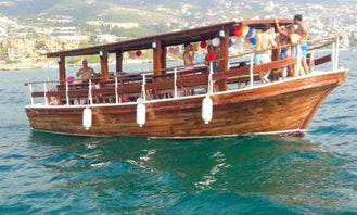 Have Fun in Byblos, Lebanon aboard this awesome Passenger boat