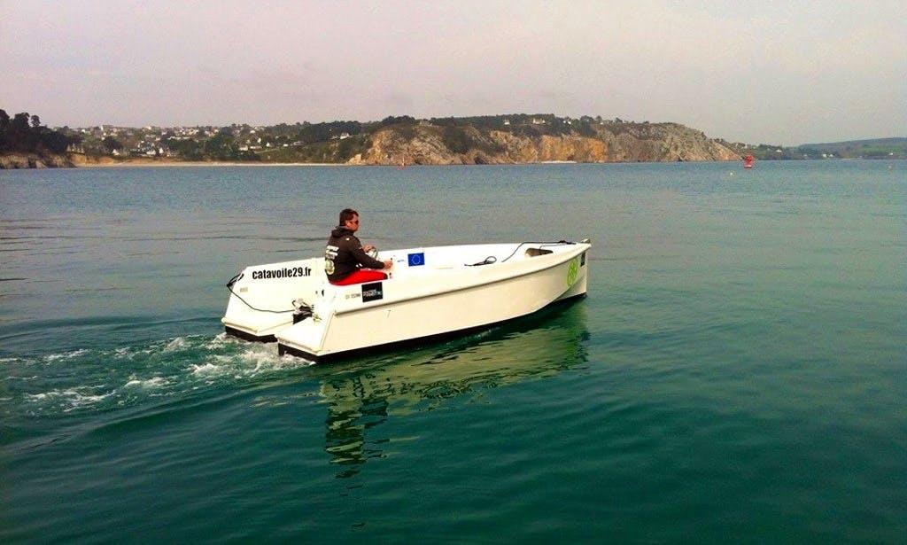 Deck Boat Rental in Crozon, France