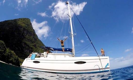 Catamaran Lucia 40' Rental In Le Marin