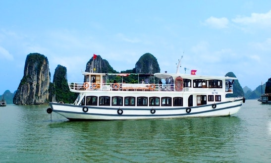 4 Hour Cruising In Halong Bay - Vietnam With Alovacruises.com
