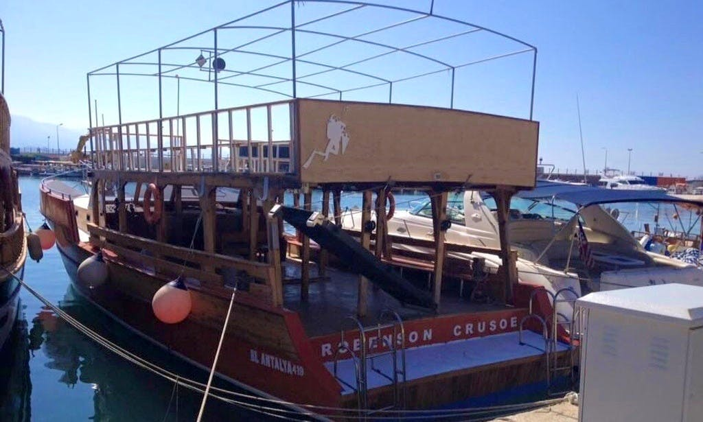 Enjoy Diving Courses in Antalya, Turkey