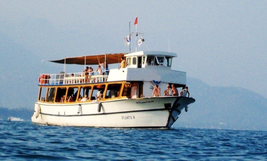 """atlantis-m"" Diving Boat Trips In Turkey"