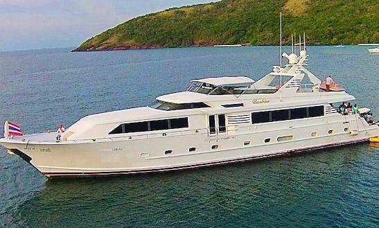 Explore Chon Buri, Thailand On Power Mega Yacht For 35 People