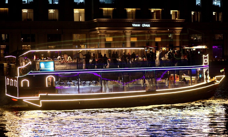 Stunning Canal Dinner Cruise in Dubai, UAE