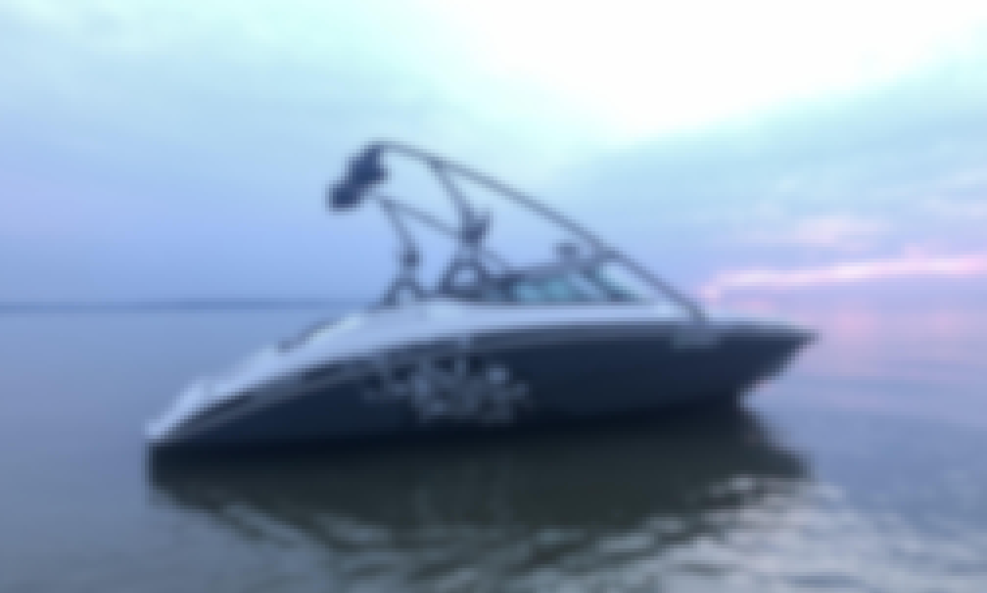 Wakeboarding on Lake Livingston in Texas