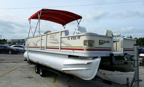 22' Pontoon Fish & Party Barge