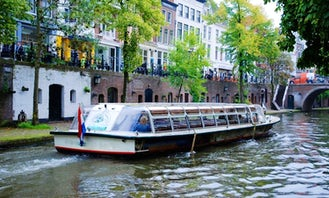 Enjoy Utrecht, Netherlands by Bernard Schuttevaer Canal Boat