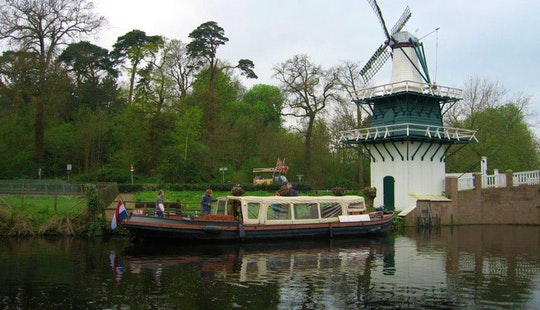 Canal Boat Tours In Haarlem