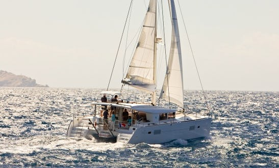 Lagoon 400 Bareboat Charter In St. Vincent