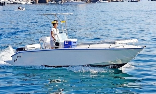 16ft Barracuda Center Console For Rent In Ponza Lazio, Italy