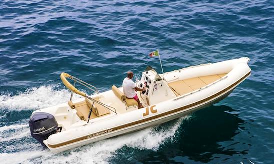 Rent 26' Joker Boat Clubman Rib In Positano, Italy