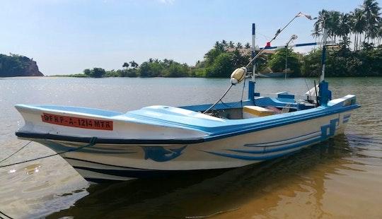 Enjoy Fishing In Mirissa, Sri Lanka On A Center Console